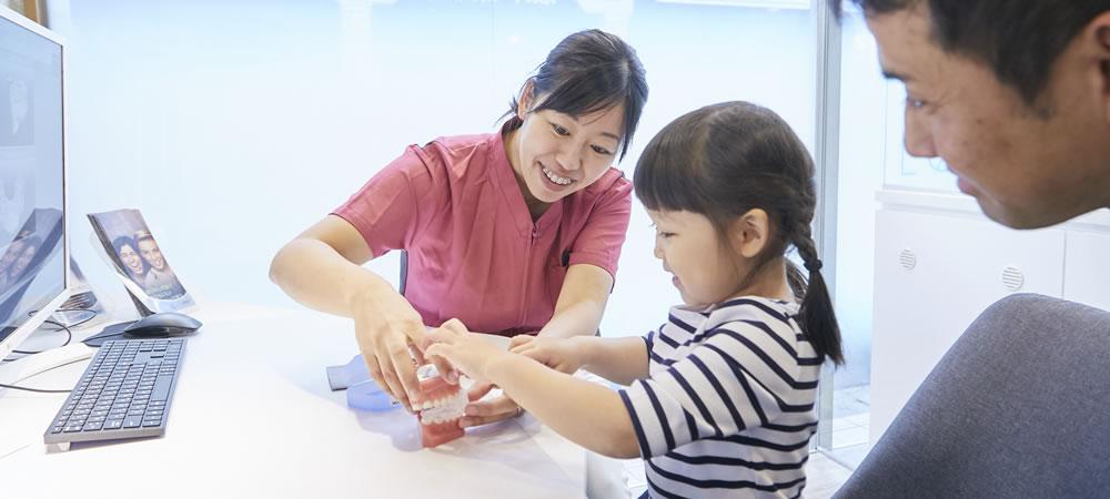 子供の反対咬合の矯正治療